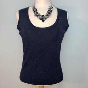 Ann Taylor 75% silk sleeveless top